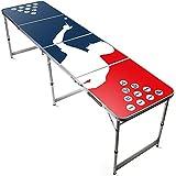 Offizieller Player Beer Pong Tisch | Premium Qualität | Offizielle Wettkampfmaße | Beer Pong Table | Kratz und Wassergeschützt | Stabil | Partyspiele | House Party | 100% Spaß