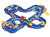 BIG Spielwarenfabrik 1660 AquaPlay - AquaPlay´nGo - 160x145x22cm große Wasserbahn, größte Wasserwelt von AquaPlay, inkl. 4 Tierfiguren und 4 Booten, für Kinder ab 3 Jahren
