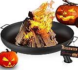 Amagabeli Feuerschale für Draußen 70cm Gross Feuerstelle Feuerschalen für den Garten Terrasse Fire Pit
