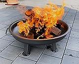 Czaja Stanzteile Feuerschale Kiel Ø 60 cm - mit verstärktem Rand - Feuerschalen für den Garten, Terrasse und Balkon, Feuertonne und Feuerkorb, kleine Feuerstelle für den Garten…