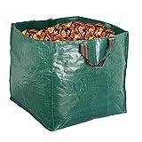 Artillen Garden Bags,Reusable Yard Leaf Bag 71 Gallon Heavy Duty Gardening Lawn Pool Waste Collector Container 1 x large 270L Gartenmüllbeutel (65 X 65cm) (270 L)