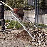 TRUTZHOLM® XL Durchwurfsieb Gartensieb Sieb Kompost Gitter Durchwurfgitter Erdsieb (115x75cm)