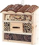Royal Gardineer Nistkasten: Insektenhotel Marie, Nisthilfe für Nützlinge, 20 x 20 x 7 cm (Nisthaus)
