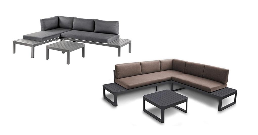 Aluminium-Loungemöbel