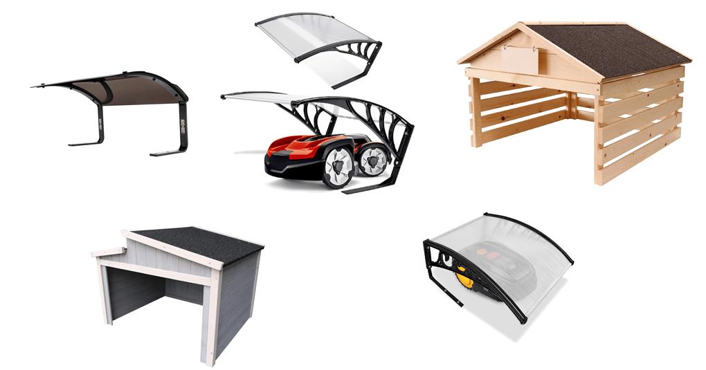 Garagen für Mähroboter