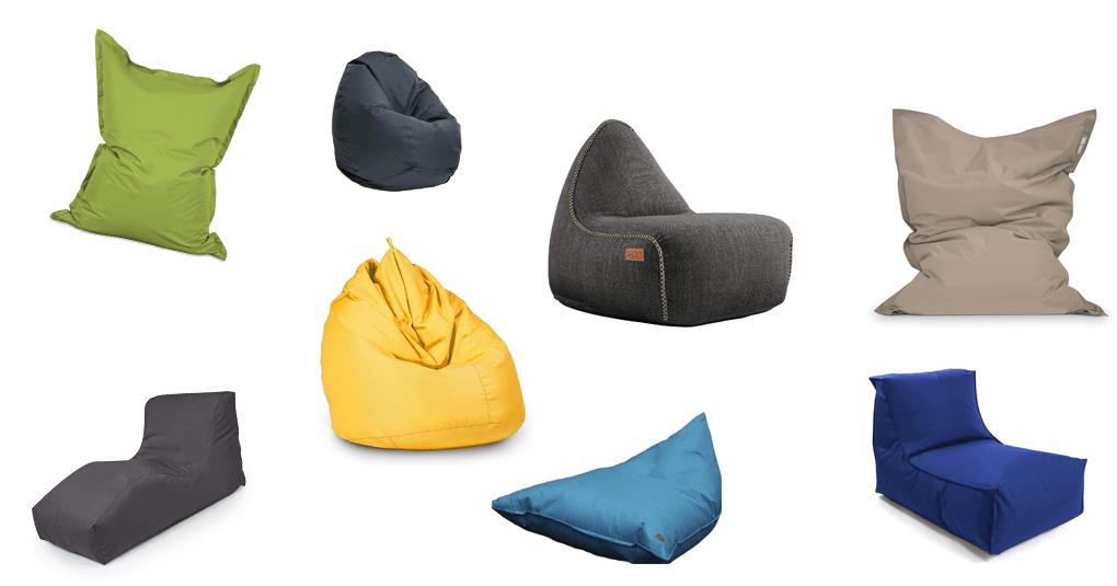 Sitzsack für die Outdoor-Nutzung