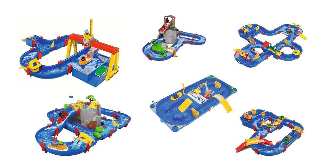 Wasserbahnen für Kinder